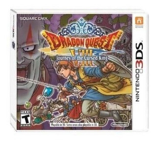 Dragon Quest Viii Journey Of The Cursed King - Juego 3ds