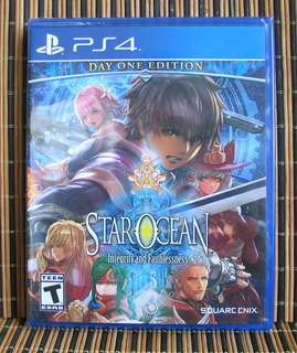 Star Ocean Integrity And Faithlessness - Ps4 Rpg - Tri Ace
