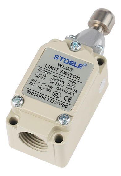 Wld3 Micro Limite Interruptor Longo Dobradiça Rolo Momentári