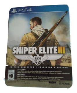 Sniper Elite 3 Collectors Edition Ps4 Nuevo Sellado