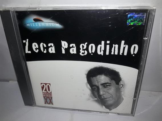 Cd Zeca Pagodinho Millennium 1998 Semi Novo