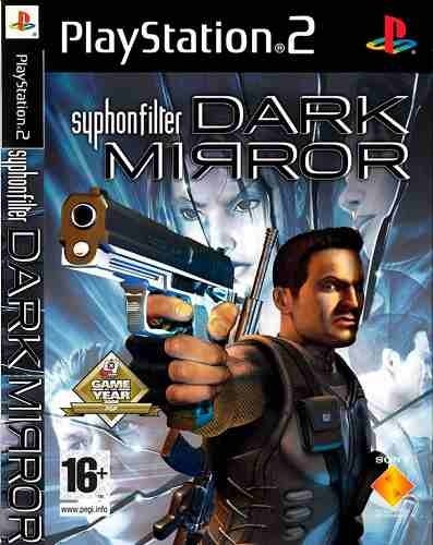 2 Jogos Ps2 Syphon Filter - Dark Mirror - Original Lacrado