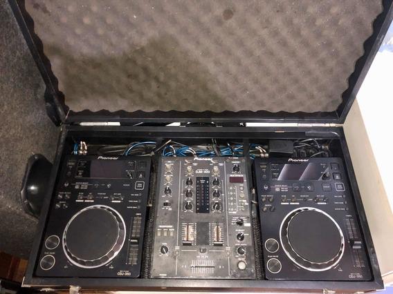 Cdj Pioneer 350 Com Mixer Pioneer Djm 400