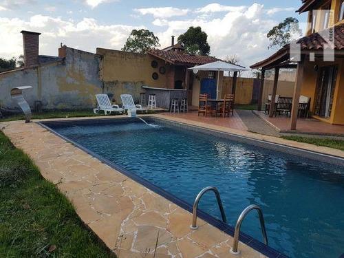Casa Residencial À Venda, Champs Privés, Campo Limpo Paulista. - Ca0558