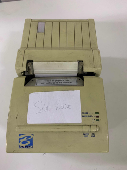 Impressora Bematch Matrícula 1186