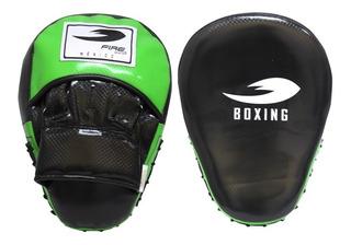 Par De Manoplas O Manillas Curvas Pvc Boxeo Fire Sports