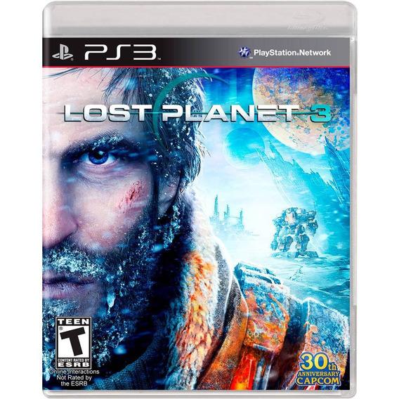Lost Planet 3 - Ps3 - Mídia Física