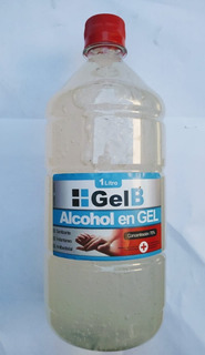 Alcohol En Gel 1 Lt Laboratorio Servex