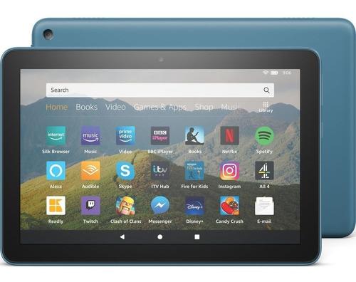 Tablet Amazon Fire Hd 8 10gen 32gb 2 Gb Ram 2020 Azul Cuotas