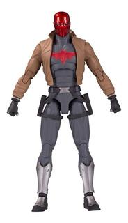 Dc Essentials Red Hood Figura Dc Collectibles - Robot Negro