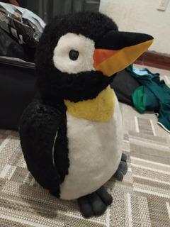 Peluche Pingüino Navidad Reyes Animales