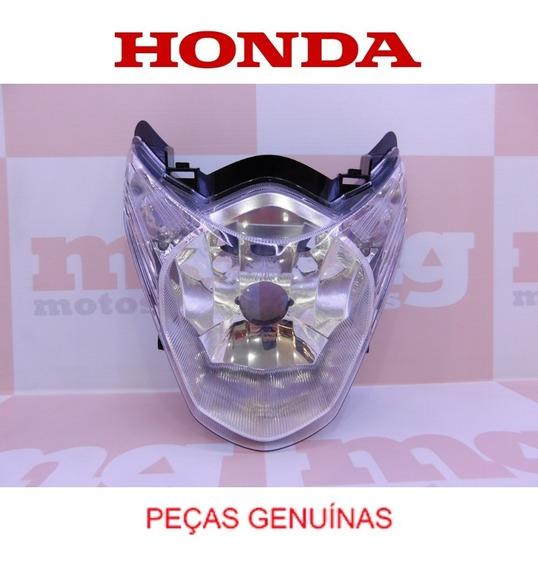 Farol Bloco Óptico Cg Titan 150 2011 À 2013 Original Honda