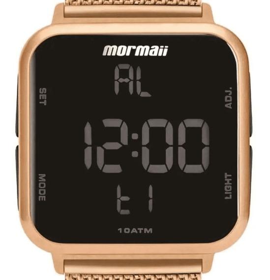 Relógio Feminino Digital Rose Mormaii Mo6600af/8j Original