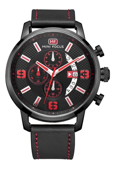 Reloj Para Hombre Original Minifocus Deportivo Calendar 25g