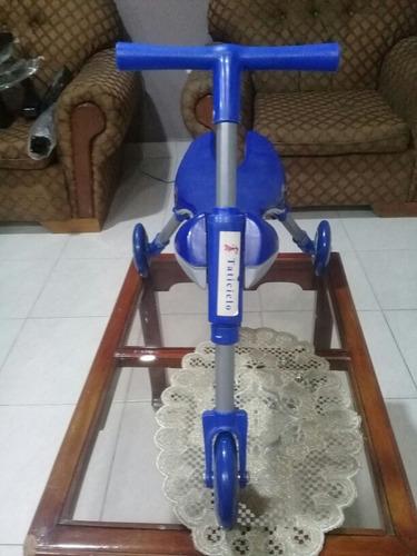 Triciclo Infantil En Aluminio Y Plastico Nuevo