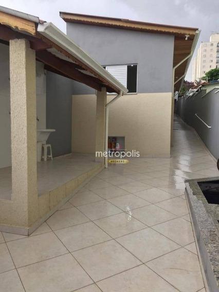 Terreno Com 2 Casas, 177 M² Por R$ 800.000 - Santa Maria - São Caetano Do Sul/sp - Ca0469