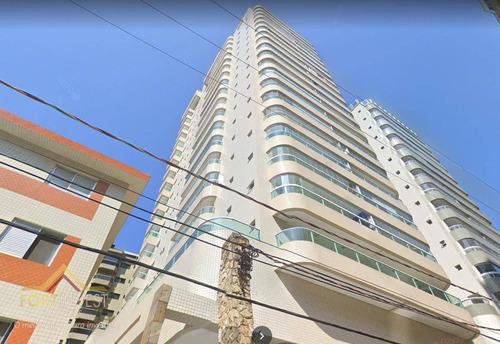 Imagem 1 de 30 de Apartamento Duplex Com 3 Dormitórios À Venda, 350 M² Por R$ 1.890.000,00 - Canto Do Forte - Praia Grande/sp - Ad0007