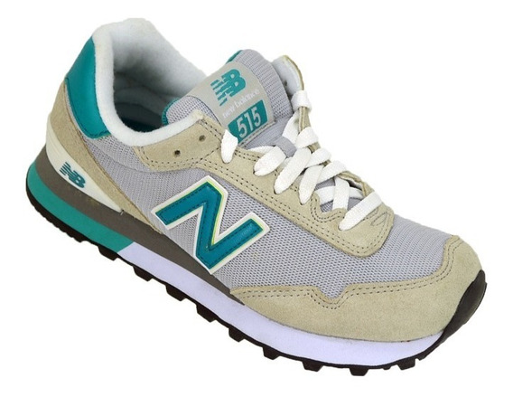 Zapatillas Mujer New Balance Wl-515 Original Grs/vde