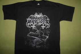 Gusanobass Playera Rock Metal Satanic Warmaster Black Death