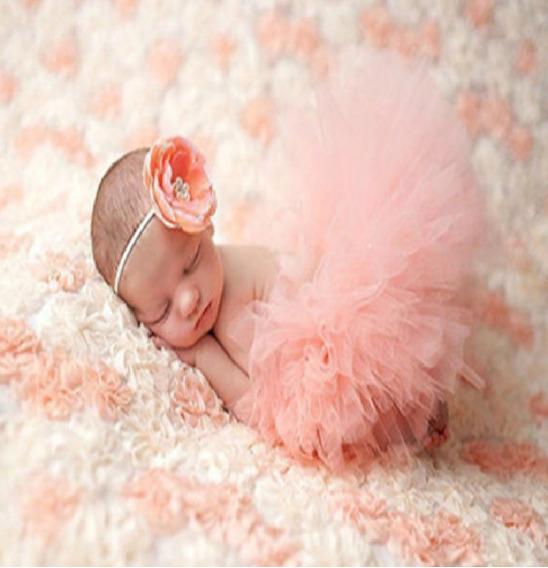 Saia Tutu Newborn Bebê Niver Ensaio Fotografico