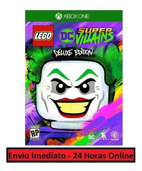 Lego Dc Super Vilões Jogo + Todas Dlc