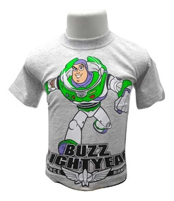 Camiseta Camisa Infantil Toy Story Buzz Lightyear