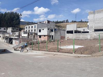 Venta De Terreno Esquinero, Area 391,85 M2, Parroquia Chillo