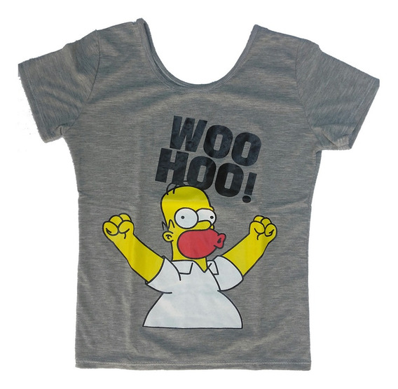 Remera De Homero Simpson