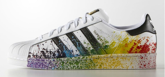 adidas Superstar Originals Pride Back Envio Gratis