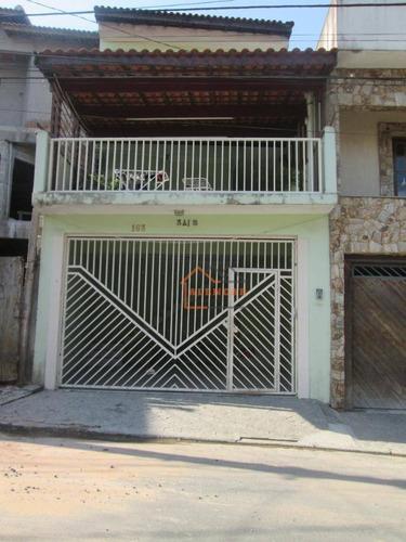 Sobrado À Venda, 170 M² Por R$ 583.000,00 - Jardim Nossa Senhora Do Carmo - São Paulo/sp - So0415