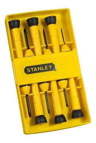 Juego De 6 Atornilladores De Precisión Stanley