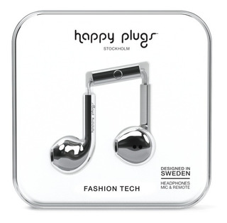 Auriculares Happy Plugs Earbud Deluxe Edition Varios Colores