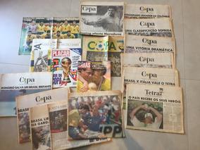 Jornas E Revistas Das Copas Do Mundo De 1994, 1998 E 1982