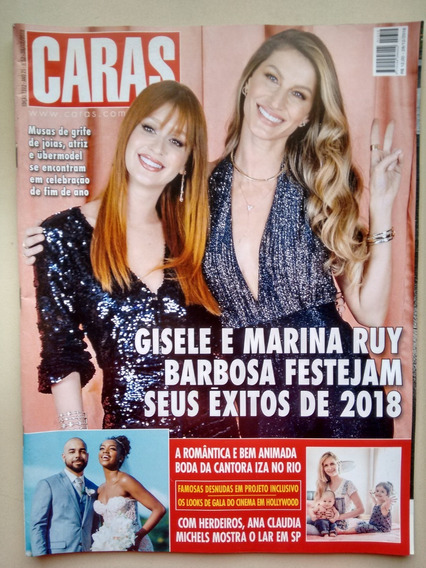 Revista Caras 1312 Gisele Bündchen Marina Ruy Barbosa B712