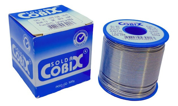 Solda Cobix 500g 60x40 1mm Rolo 500g