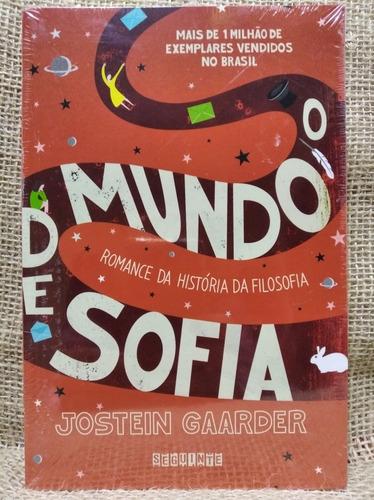 Livro O Mundo De Sofia - Jostein Gaarder - Capa Comum