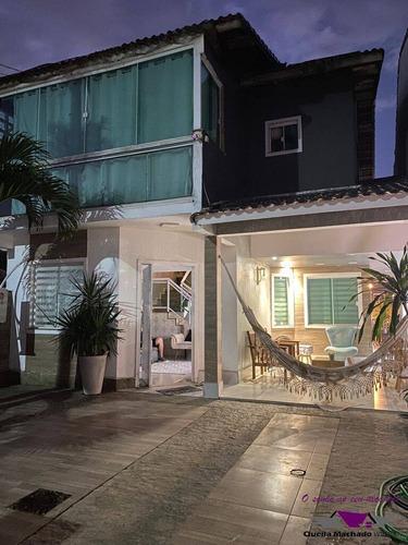 Imagem 1 de 15 de Casa Com 3 Qts ,piscina, C Vista Para A Praia De Itaipuaçu!!! - 9