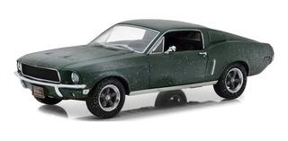 Ford Mustang Gt 1968 Unrestored Steve Mcqueen Bullitt 1/24