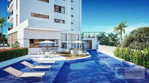 Apartamento Com 4 Dormitórios À Venda, 140 M² Por R$ 1.220.300,00 - Caminho Das Árvores - Salvador/ba - Ap0437