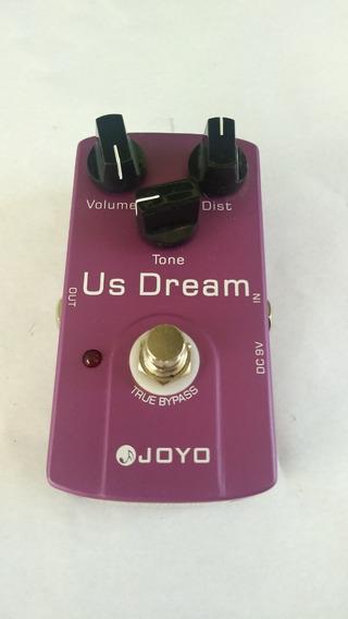 Joyo Us Dream Pedal De Distorção, Estado De Novo, Usado Poucas Vezes, Vai Com A Fonte, Distorção Muito Top