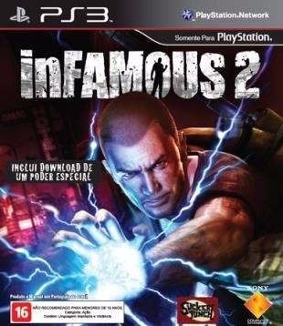 Ps3 Game - Infamous 2