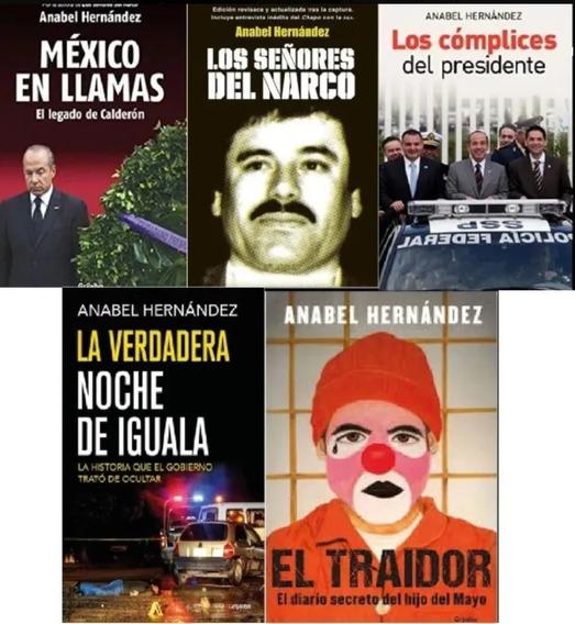 Pack De 5 Libros Pdf Anabel Hernández
