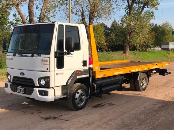 Camion Ford Cargo 915e Con Plancha Y Gnc