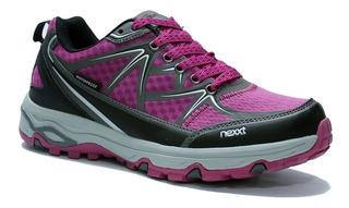 Zapatillas Trekking Nexxt Mujer Endurance Pro - Impermeable
