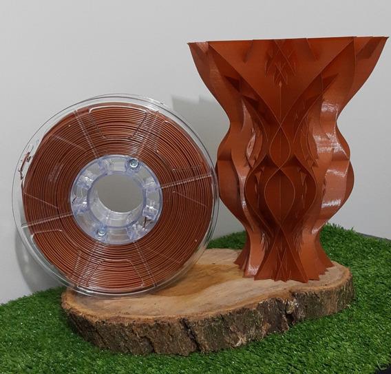 Filamento Pla 1,75mm Cobre - Alto Teor De Pureza 1kg