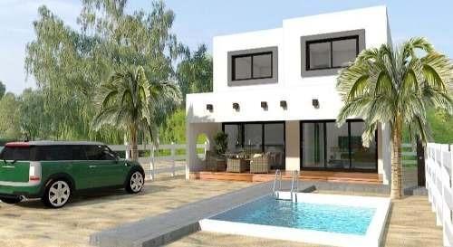 Hermosa Y Moderna Casa Nueva De Playa En Venta