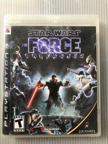 Imagen 1 de 1 de Starwars Forcé Unleashed Ps3