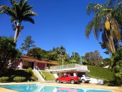 Chácara Com 3 Dormitórios À Venda, 1900 M² Por R$ 800.000,00 - Atibaia Belvedere - Atibaia/sp - Ch1245