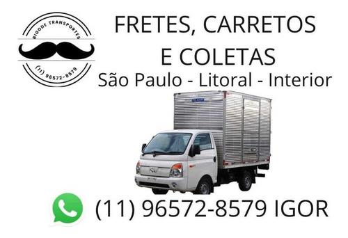 Imagem 1 de 1 de Faço Fretes,carretos E Coletas São Paulo,litoral E Interior
