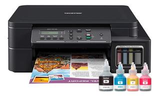 Impresora Multifunción Brother T510w Wifi + Tintas Loi